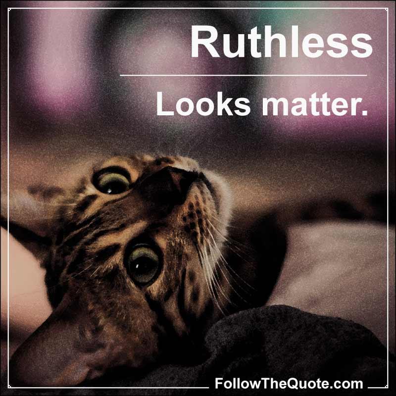 Slogan: Looks matter.